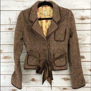 Abercrombie & Fitch Wool Tweed Blazer Sz M ::LL6